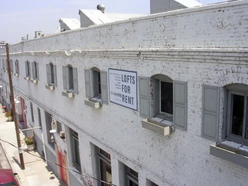 frontside of lofts....