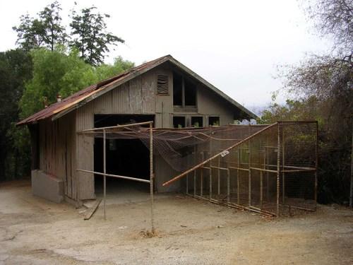 old zoo shack