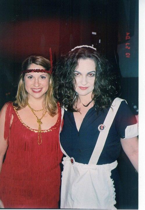 Flapper Girl & Magenta