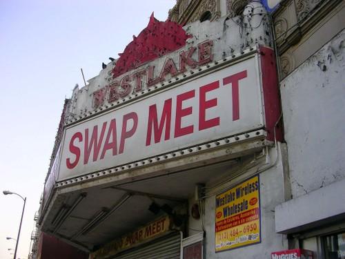 Westlake Theatre, now a Swap Meet